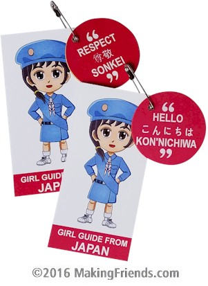 Girl scout japanese paper dolls — pic 4