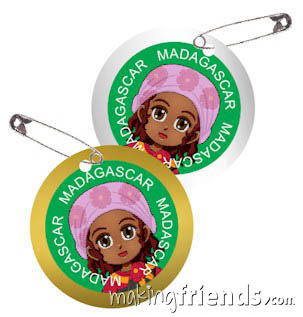 Girl Scout Madagascar Thinking Day SWAP Kit via @gsleader411