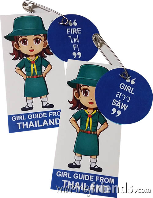 Girl Scout Thinking Day Learn SWAP Kit Thailand via @gsleader411