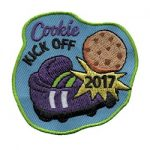 Girl Scout Cookie Kick Off 2017 Fun Patch