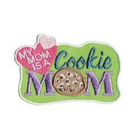 My Mom is a Cookie Mom Fun Patch