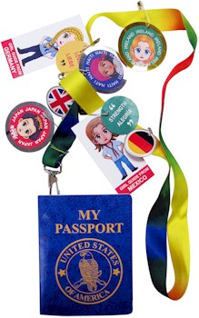 Girl Scout Passport Lanyard