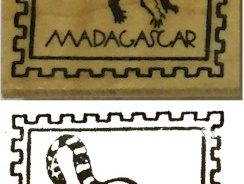 Madagascar Girl Scout Thinking Day Stamp