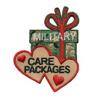Military Care Package Girl Scout Fun Patch