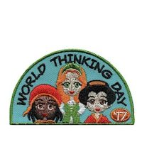 Girl Scout World Thinking Day 2017 Fun Patch