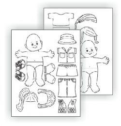 Brownie Leadership Paper Dolls