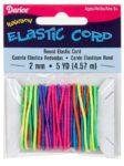 Rainbow Elastic Cord