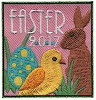 Easter 2017 Fun Patch