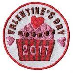 Valentine's Day 2017 Fun Patch