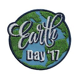 Girl Scout Earth Day 2017 Fun Patch