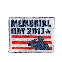 Girl Scout Memorial Day 2017 Fun Patch