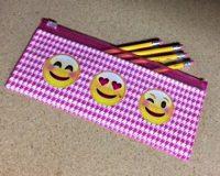 emoji pencil case for girl scouts