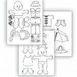 Water Journey Paper Dolls
