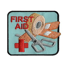 Girl Scout First Aid Fun Patch