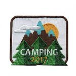 Girl Scout Camping Fun Patch