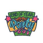 Girl Scout End of Year Party Fun Patch