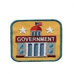 Girl Scout Government Fun Patch