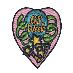 Girl Scout Week Fun Patch