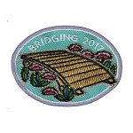 Girl Scout Bridging Fun Patch