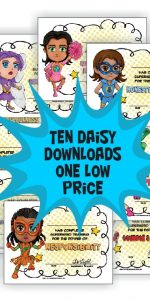 Daisy Girl Scout Superhero Downloads