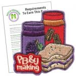Peanut Butter And Jelly Making Fun Patch