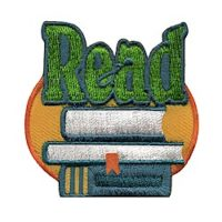 Read Fun Patch for Get Caught Reading Month