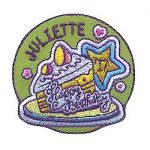 Girl Scout Happy Birthday Juliette Fun Patch