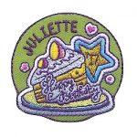 Girl Scout Happy Birthday Juliette Fun Patch