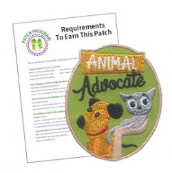 Girl Scout Animal Advocate Patch Program