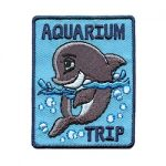Girl Scout Aquarium Trip Fun Patch