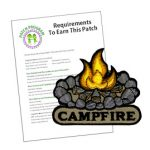Girl Scout Campfire Patch Program®