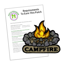 Girl Scout Campfire Patch Program