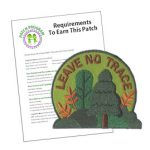 Girl Scout Leave No Trace Patch Program