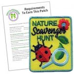 Girl Scout Nature Scavenger Fun Patch