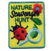 Girl Scout Nature Scavenger Hunt Fun Patch