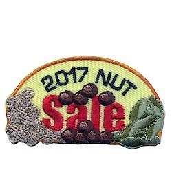 Girl Scout Nut Sale Fun Patch