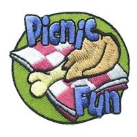 Girl Scout Picnic Fun Patch