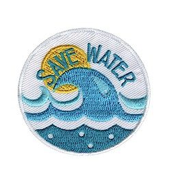 Girl Scout Save Water Fun Patch