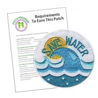 Girl Scout Save Water Patch Program