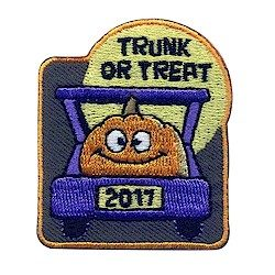 Girl Scout Trunk or Treat Fun Patch