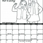 Girl Scout September Calendar