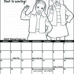 Girl Scout September Calendar