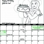 Girl Scout October Calendar