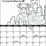 Girl Scout November Calendar