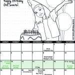 Girl Scout March Calendar