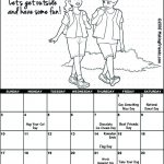 Girl Scout June Calendar