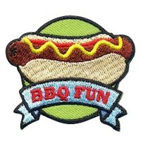 Scout BBQ Fun patch for National BBQ Month