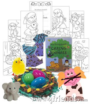 Girl Scout Daisy Animal Badge in a Bag via @gsleader411