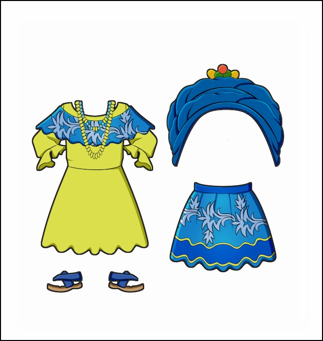 World Thinking Day Traditional Brazil Clothing