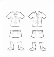 Brazil Girl Guide Uniform for Thinking Day